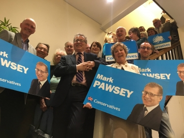 Mark Pawsey is our candidate